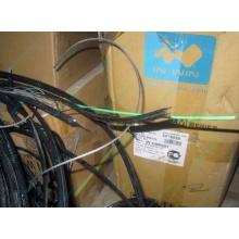 Оптический кабель Б/У для внешней прокладки (с металлическим тросом) в Кирове, оптокабель БУ (Киров)