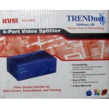 Видеосплиттер TRENDnet KVM TK-V400S (4-Port) в Кирове, разветвитель видеосигнала TRENDnet KVM TK-V400S (Киров)