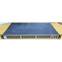 Управляемый коммутатор D-link DES-1210-52 48 port 10/100Mbit + 4 port 1Gbit + 2 port SFP металлический корпус (Киров)