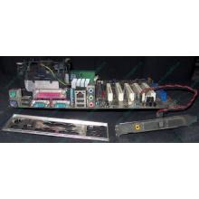 Материнская плата Asus P4PE (FireWire) с процессором Intel Pentium-4 2.4GHz s.478 и памятью 768Mb DDR1 Б/У (Киров)
