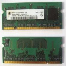 Модуль памяти для ноутбуков 256MB DDR2 SODIMM PC3200 (Киров)